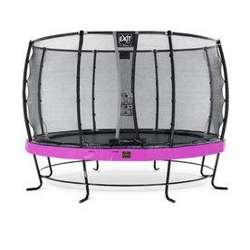 Exit EXIT Elegant Premium trampoline ø427cm met net Economy - paars
