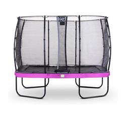 EXIT Elegant Premium trampoline 214x366cm met net Economy - paars