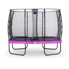 Exit EXIT Elegant Premium trampoline 214x366cm met net Economy - paars