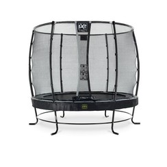 EXIT Elegant trampoline ø305cm met veiligheidsnet Deluxe - zwart