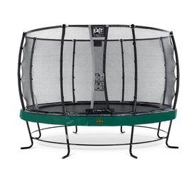Exit EXIT Elegant trampoline ø427cm met net Deluxe - groen