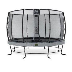 Exit EXIT Elegant trampoline ø366cm met net Deluxe - grijs