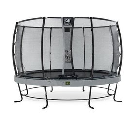 Exit EXIT Elegant trampoline ø427cm met net Deluxe - grijs