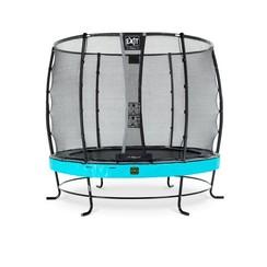 EXIT Elegant trampoline ø253cm met net Deluxe - blauw