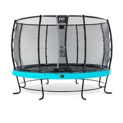 EXIT Elegant trampoline ø427cm met net Deluxe - blauw