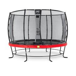EXIT Elegant trampoline ø366cm met net Deluxe - rood