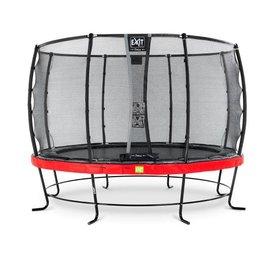 Exit EXIT Elegant trampoline ø366cm met net Deluxe - rood