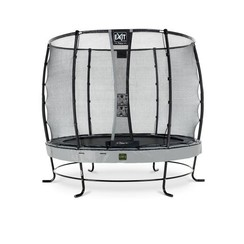 EXIT Elegant trampoline ø253cm met net Economy - grijs