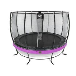 EXIT Elegant trampoline ø366cm met net Economy - paars