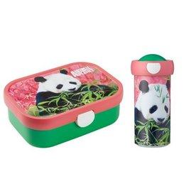 Mepal Panda Lunchbox en Schroefbeker