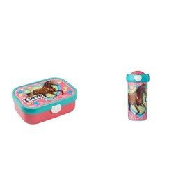 Mepal Paard Schroefbeker en lunchbox, Mepal