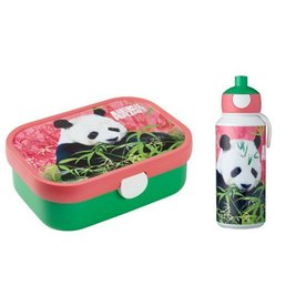 Lunchbox en Pop-Up Beker Panda, Mepal