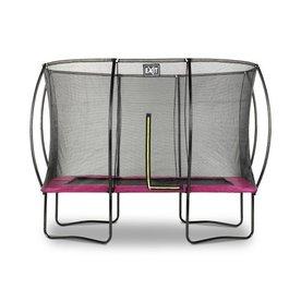 Exit EXIT Silhouette trampoline 214x305cm - roze