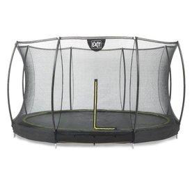 Exit EXIT Silhouette inground trampoline ø427cm+net