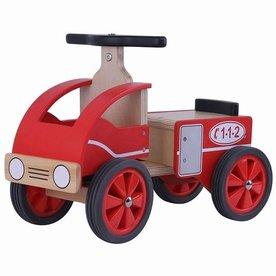 Playwood Loopwagen Brandweer