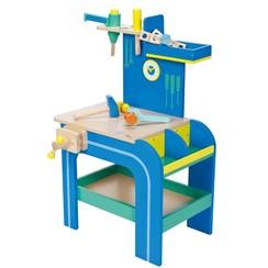 Mentari Speelgoed werkbank blauw