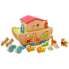 Playwood Ark van Noach vormenfiguur, Edufun