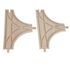 Mentari houten T-splitsing