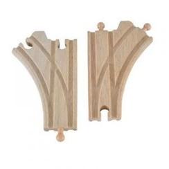 Mentari houten wissel splitsing