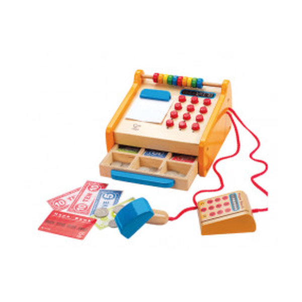 Hape Houten Kassa, Checkout Register, Hape