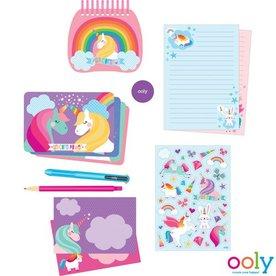 Ooly Unicorns Schrijfwarenset, Ooly