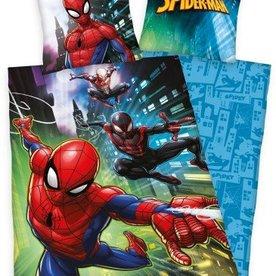 Spiderman Dekbedovertrek Building