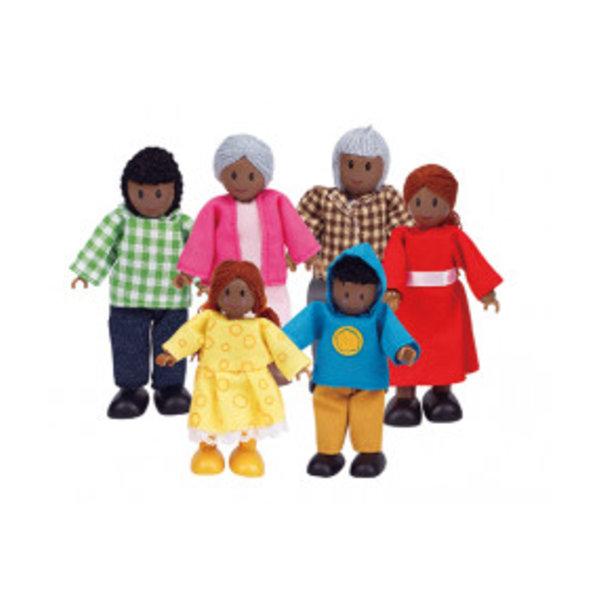 Hape Poppenfamilie Afrikaans, Hape