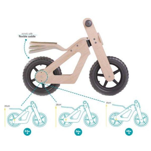 Mamatoyz Houten Loopfiets Balance Bike, Mamatoyz