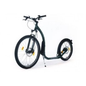 Kickbike Kickbike Step Cross Max 20 HD Racing Groen