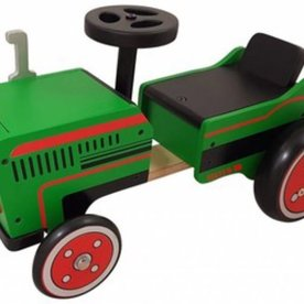 Loopauto Tractor, Hout