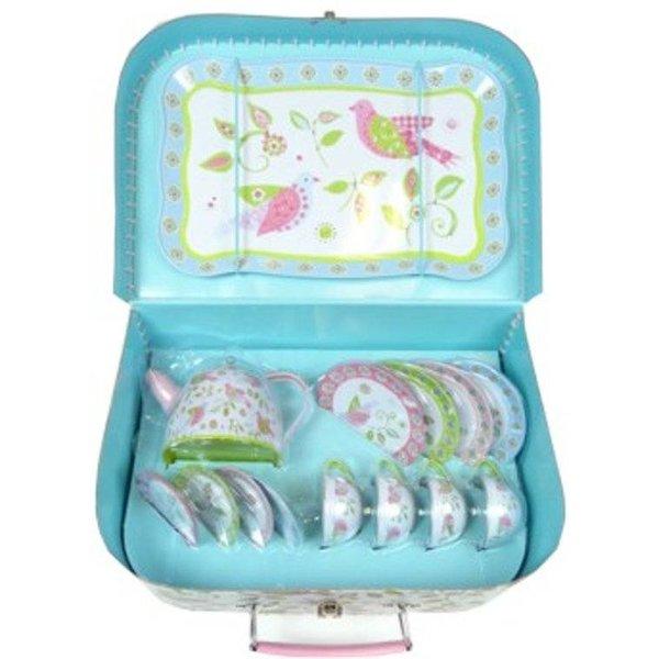 Simply For Kids Kinderservies Vogeltjes in koffer, Simply for Kids