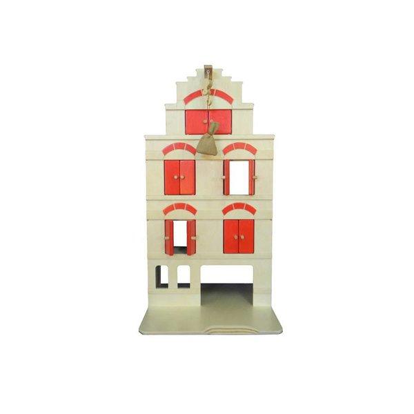 Van Dijk Toys Houten Pakhuis  van Dijk Toys, GRATIS Erwtenzakje