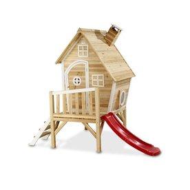 Exit EXIT Fantasia 300 houten speelhuis - naturel