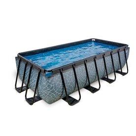 Exit EXIT zwembad 400x200cm met filterpomp