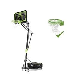 Exit EXIT Galaxy verplaatsbaar basketbalbord op wielen met dunkring - black edition