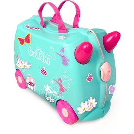 Living Nature Trunki Kinderkoffer Fee Flora, GRATIS Knuffel Poesje