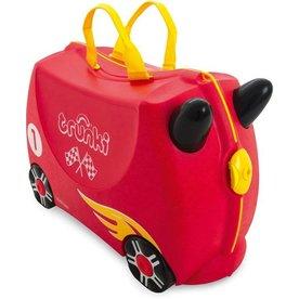 Trunki Trunki Kinderkoffer Racewagen Rocco, Gratis Knuffeltje