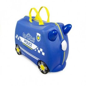 Trunki Ride on Politiewagen Percy, GRATIS Knuffel Poesje