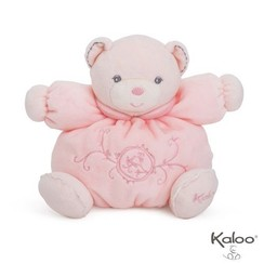 Knuffelbeer roze 20 cm