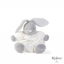 Knuffel konijn wit, 30 cm
