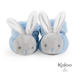 Kaloo Plume  Slofjes konijn Blauw