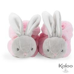 Kaloo Plume - Slofjes konijn Roze