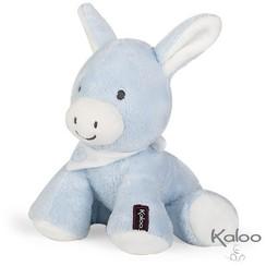 Knuffel Ezel Blauw, 19 cm