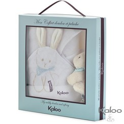 Knuffeldoekje met knuffel konijntje