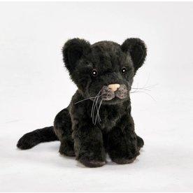 Hansa Jaguar welp zwart 17 cm lang, Hansa