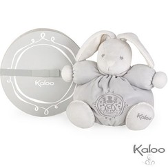 Kaloo Perle Knuffel konijn grijs middelgroot