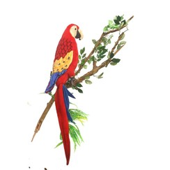 Papegaai Knuffel, Scarlet Ara 72 cm
