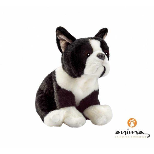 Anima Franse Bulldog Knuffel, 22 cm, Anima