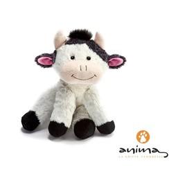Koe knuffel zittend, 25 cm, Anima