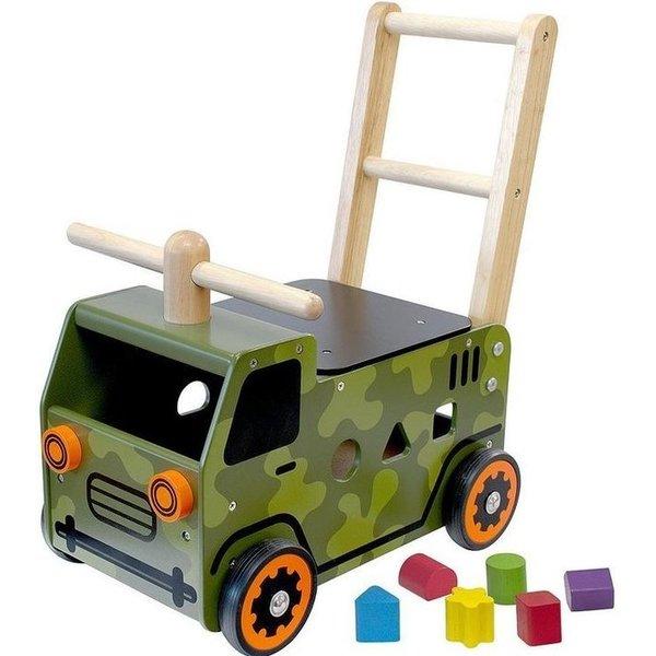 I'm Toy  Houten Loopwagen Army, I'm Toy